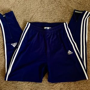 ❤️ADIDAS❤️ SEXY TRACK PANTS TAPERED ZIP ANKLES